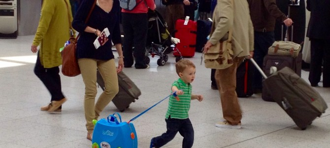 Essential travel kit & tips for a holiday with a young child