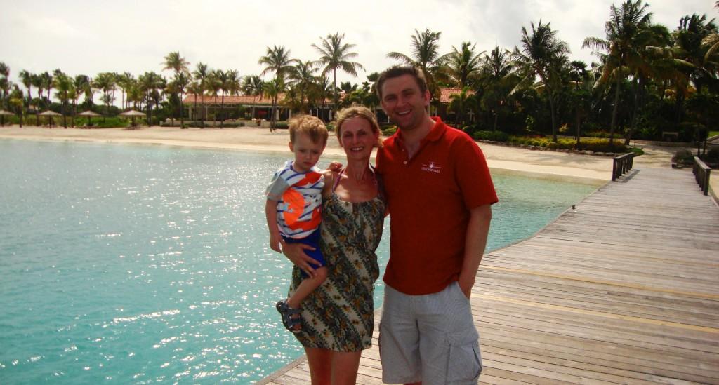 Family holiday Jumby Bay, Antigua