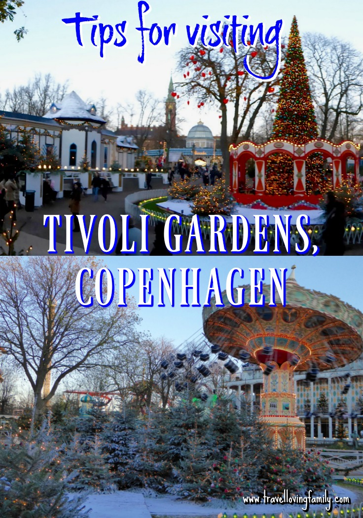 Tips for visiting the world famous Tivoli Gardens in Copenhagen including discounted tickets, how to get there, best rides, etc.