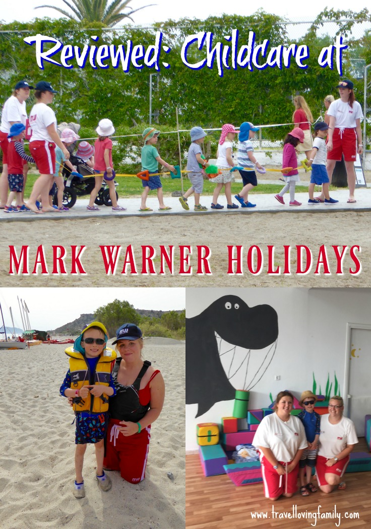 Reviewed childcare provision and facilities when on a Mark Warner Holiday, written by a mum of two young boys. Review covers what to expect for the daytime and evening childcare sessions, facilities and how much it costs.