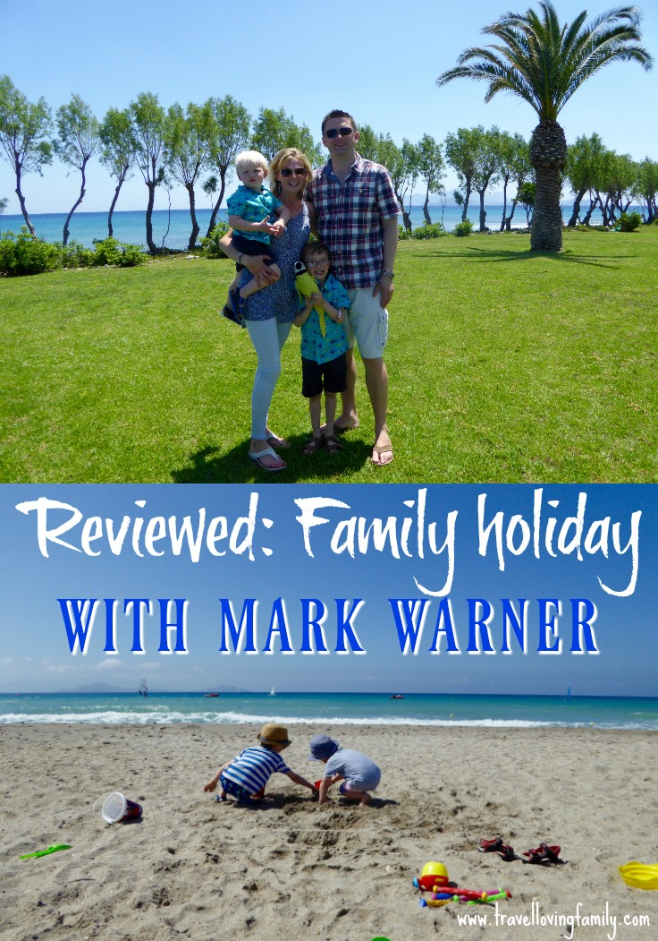 Family holiday review - Mark Warner Lakitira Beach Resort in Kos, Greece. A comprehensive review written by mum of two boys covering accommodation, food, water sports facilities and childcare facilities at this popular Mark Warner Holidays resort.