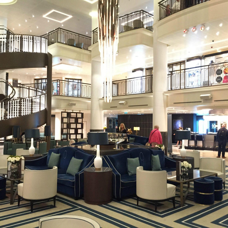 Atrium P&O Cruises Britannia