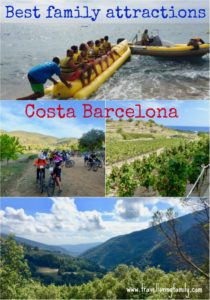 Best family attractions Costa Barcelona