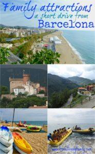 Family attractions near Barcelona