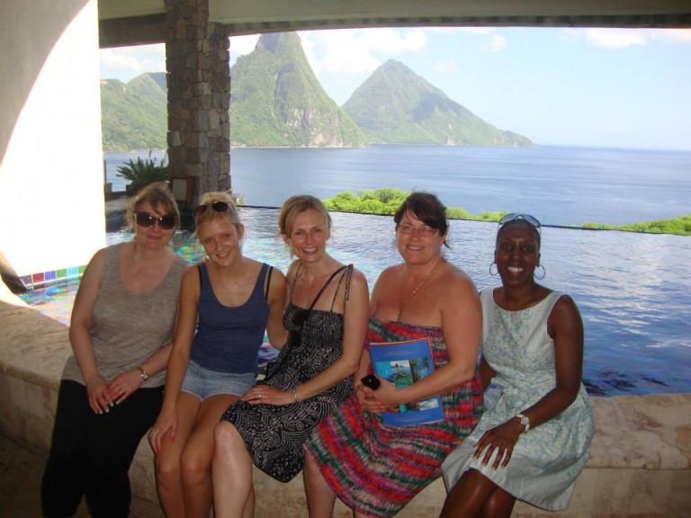 St Lucia fam trip