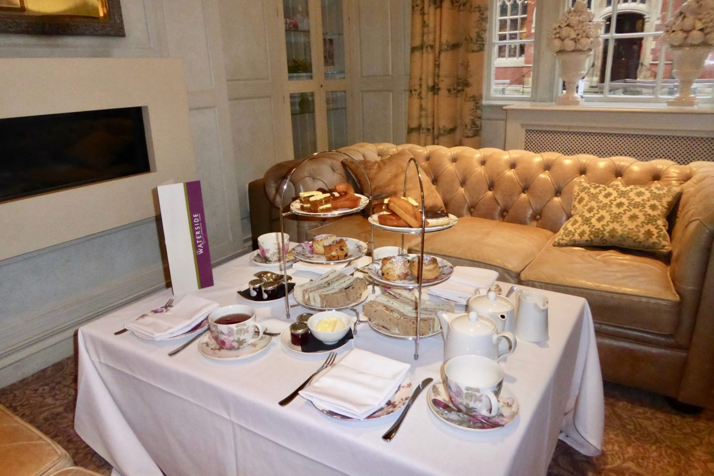 best places for afternoon tea Stratford upon Avon