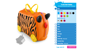 Review and giveaway - Design your own Trunki