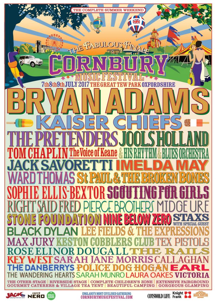 Cornbury Music Festival ticket giveaway