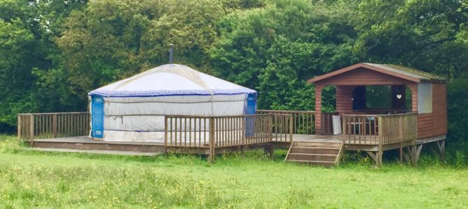 Review: Traditional Mongolian yurts in the Gower