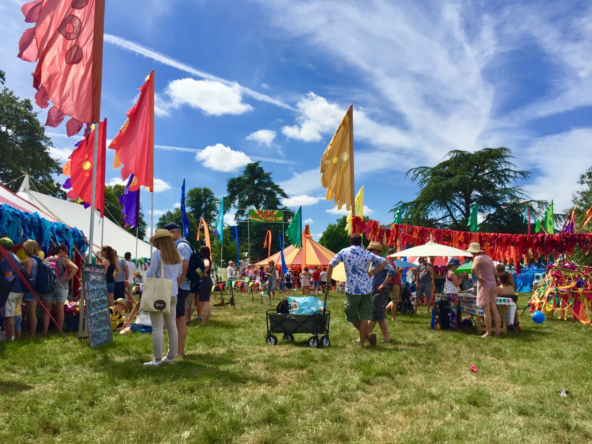 review Cornbury Festival