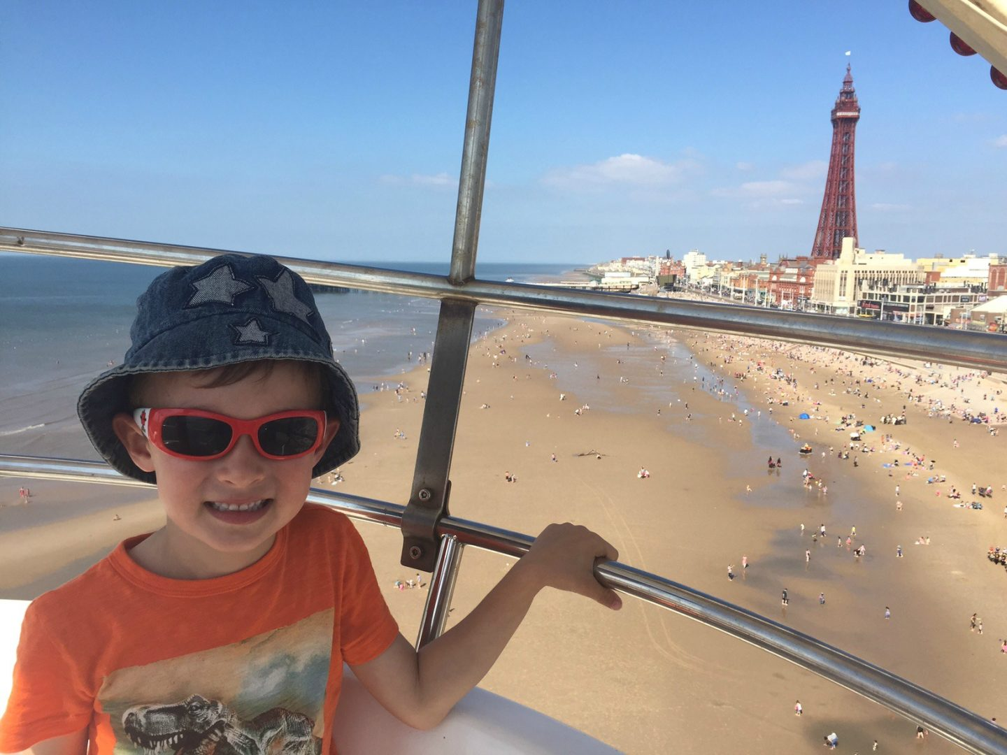 UK family friendly attractions handpicked by local mums - Big Wheel Blackpool