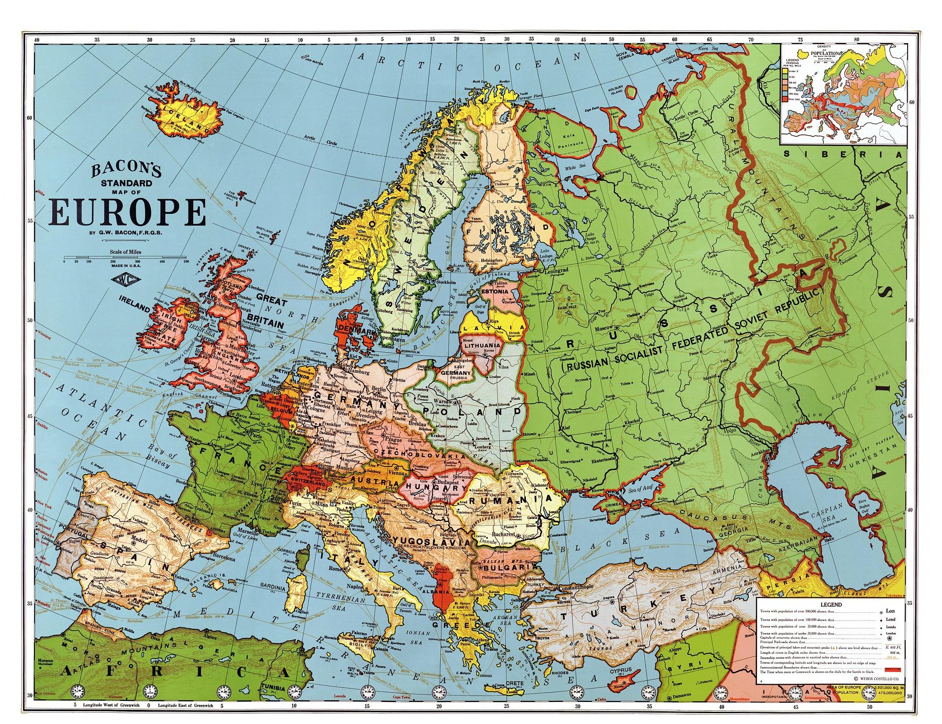 family city break ideas in Europe