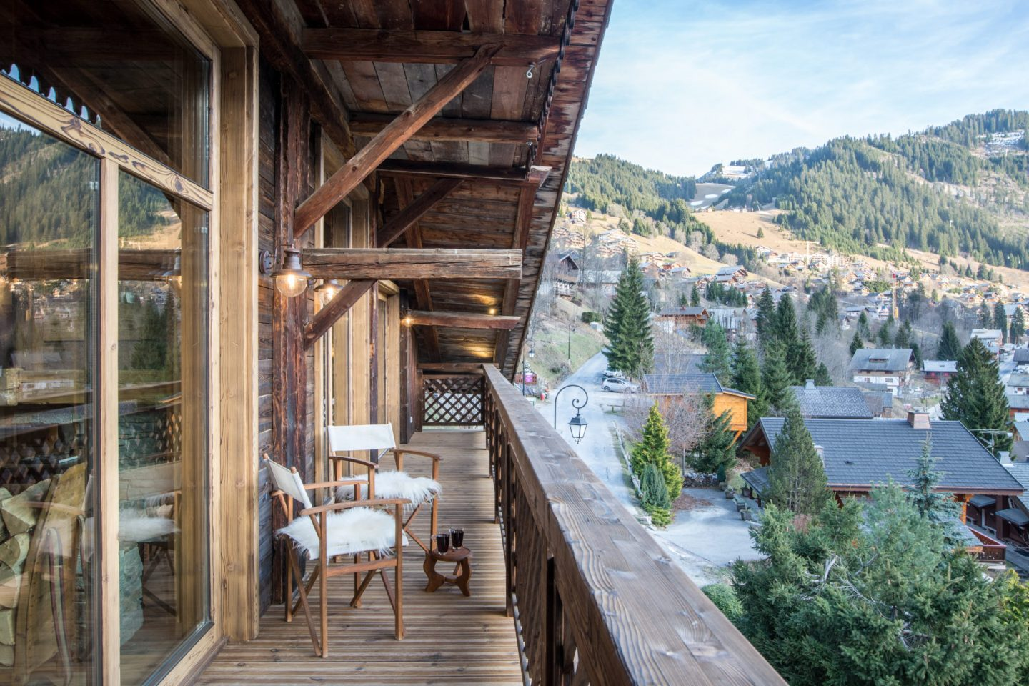 Luxury catered family chalet, French Alps