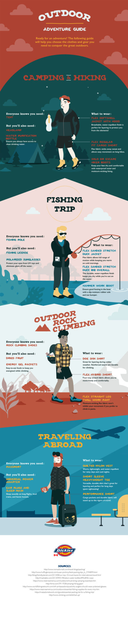 Packing tips for summer outdoor adventures