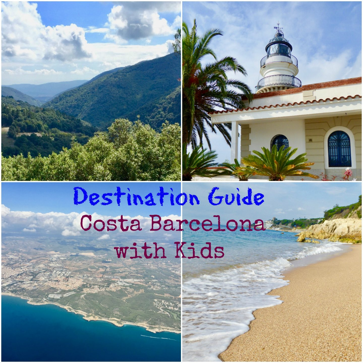 Destination guide Costa Barcelona with kids