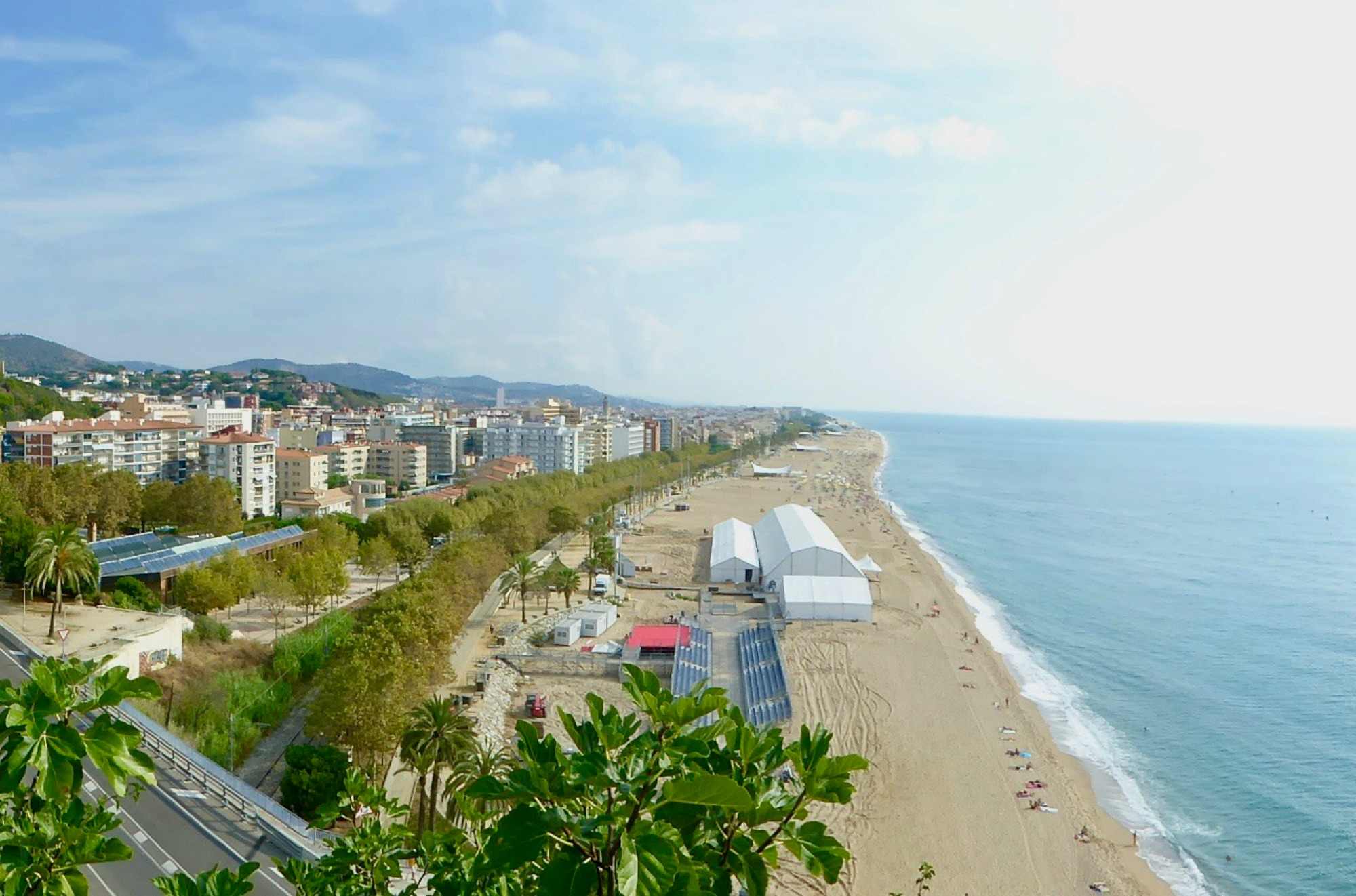 family attractions near Barcelona Calella Beach