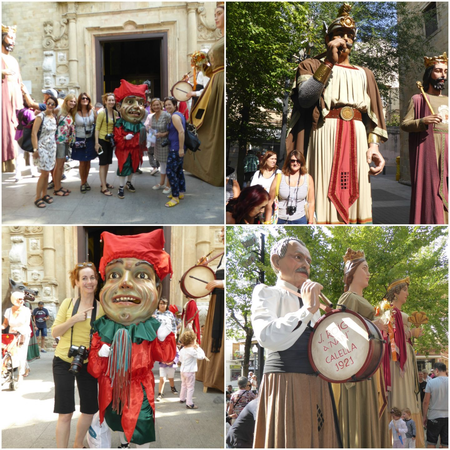 family attractions near Barcelona Festa Major Calella
