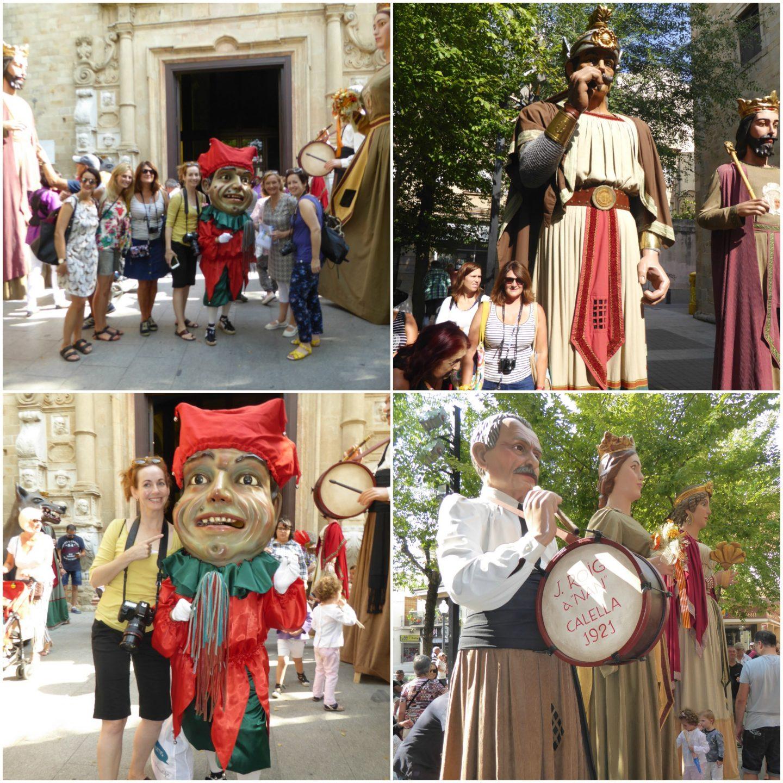 family attractions near Barcelona Festa Major Calella