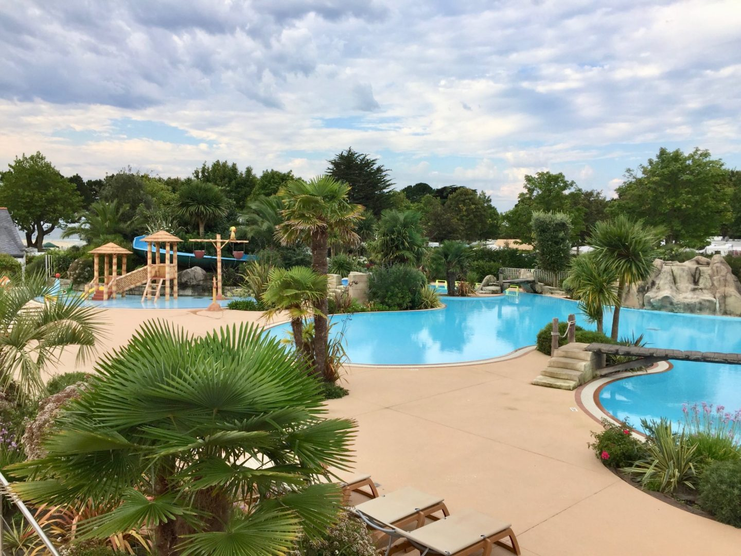 Pool - Review Camping Du Letty, Benodet