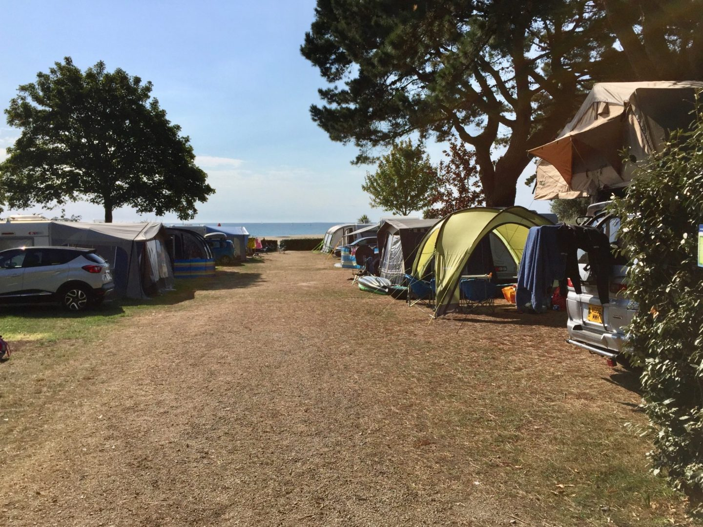 Pitches - Review Camping Du Letty, Benodet