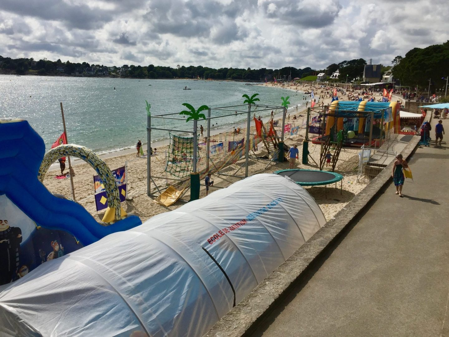 Benodet beach - Review Camping Du Letty