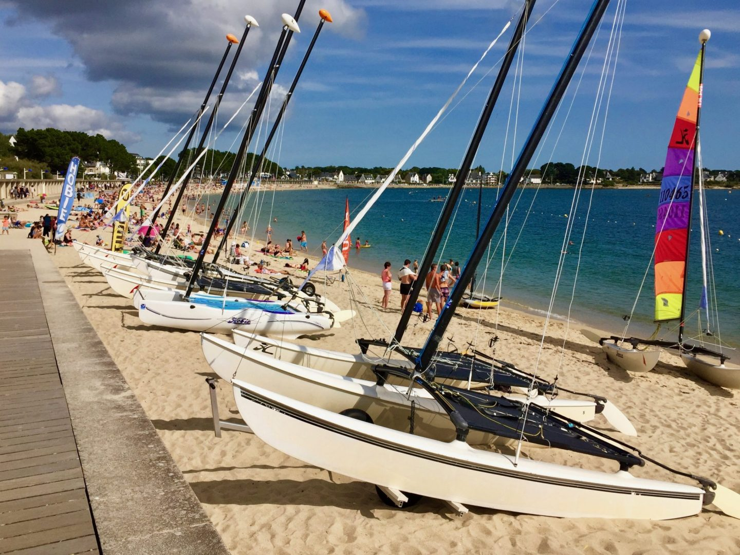 Benodet prom - Review Camping Du Letty, Brittany