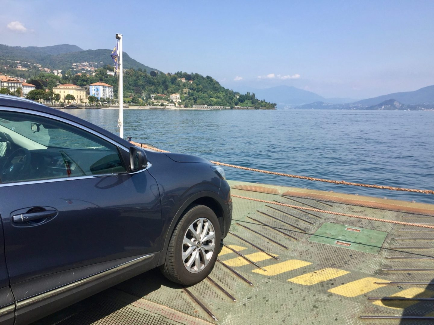 Car ferry Lake Maggiore - Luxury Italian Lakes villa
