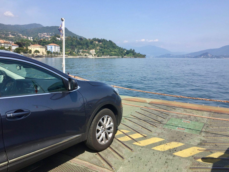 Car ferry Lake Maggiore - Luxury Italian Lakes villa