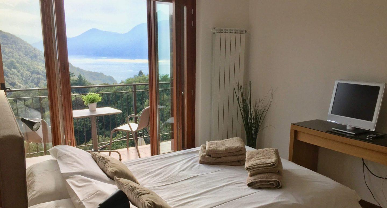 Master suite views - Luxury villa Lake Maggiore