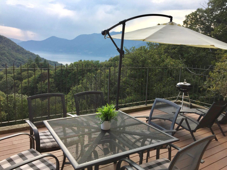 Terrace area - Luxury Italian Lakes family villa