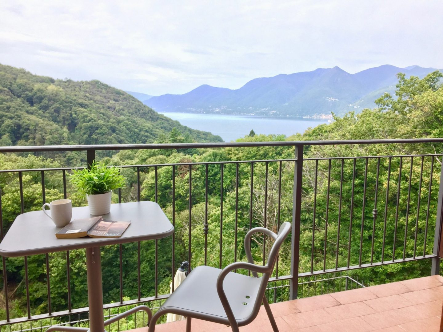 Terrace views - Luxury Italian Lakes villa