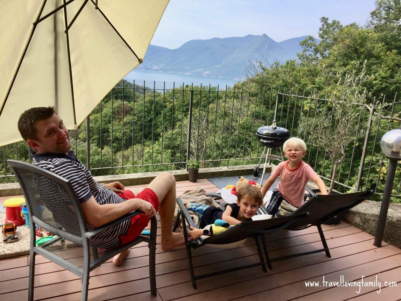 Luxury family villa Lake Maggiore