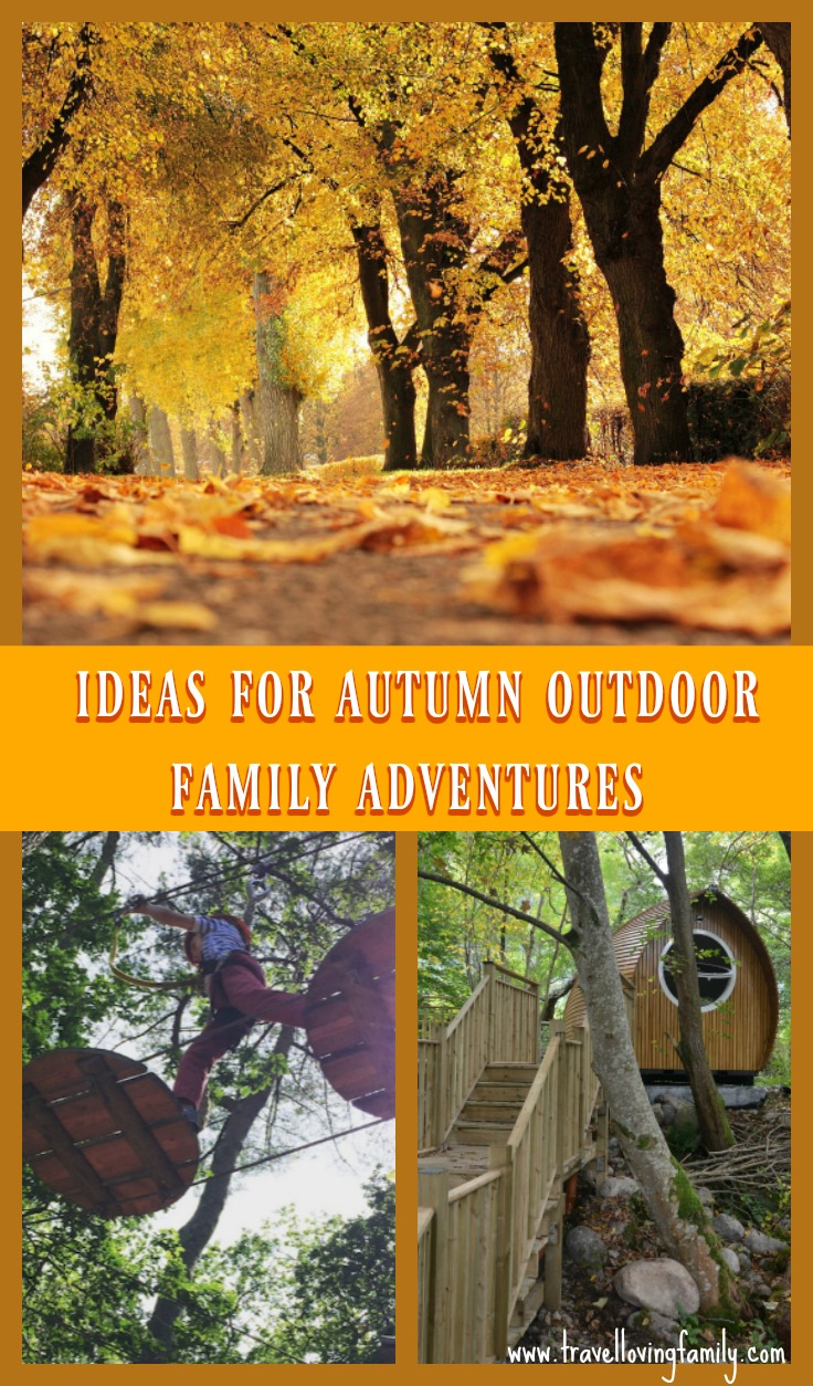 autumn outdoor family adventures