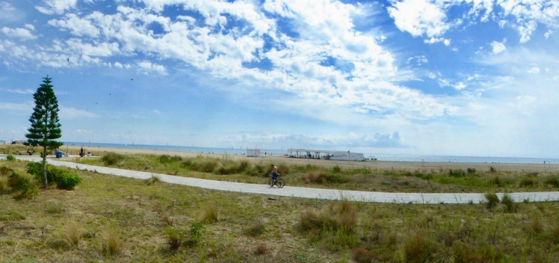 family attractions near Barcelona Calella Beach