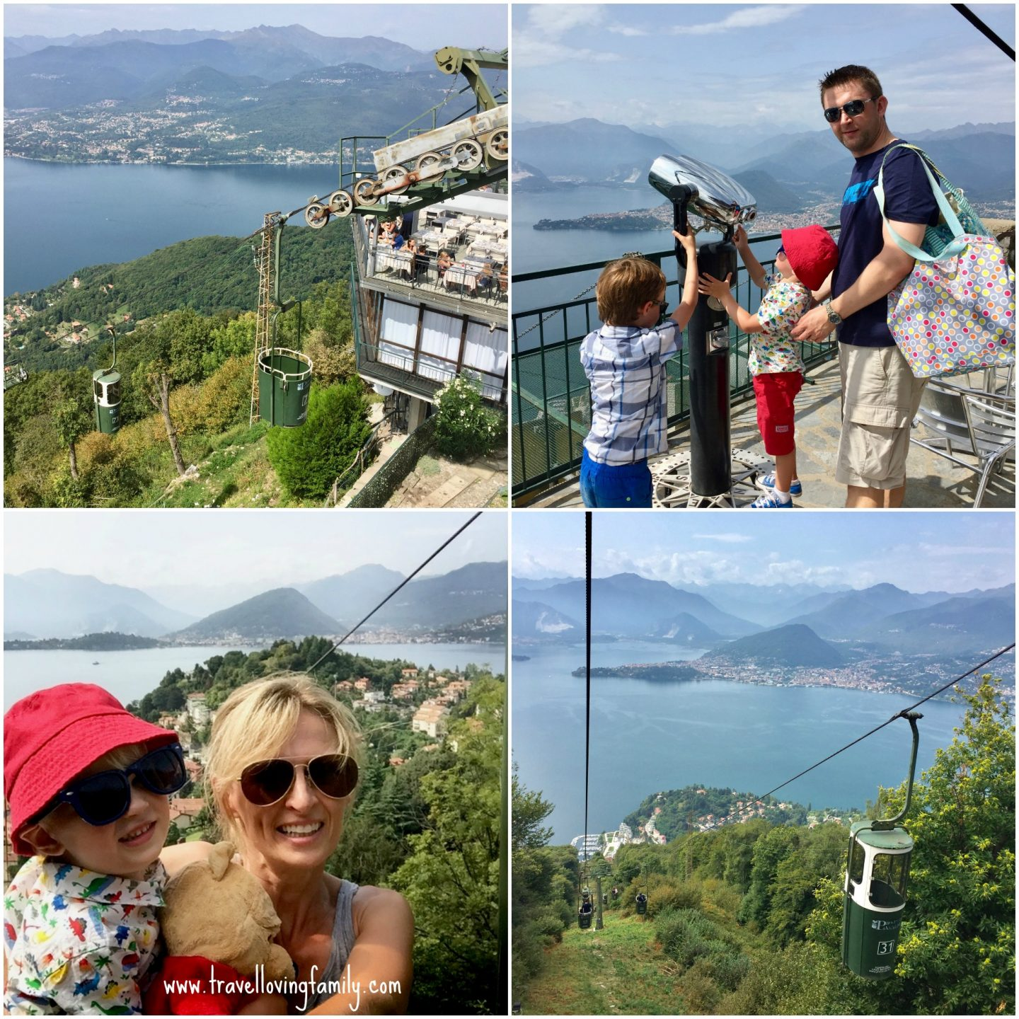 things to do with kids near Lake Maggiore, Italian Lakes - bucket ride