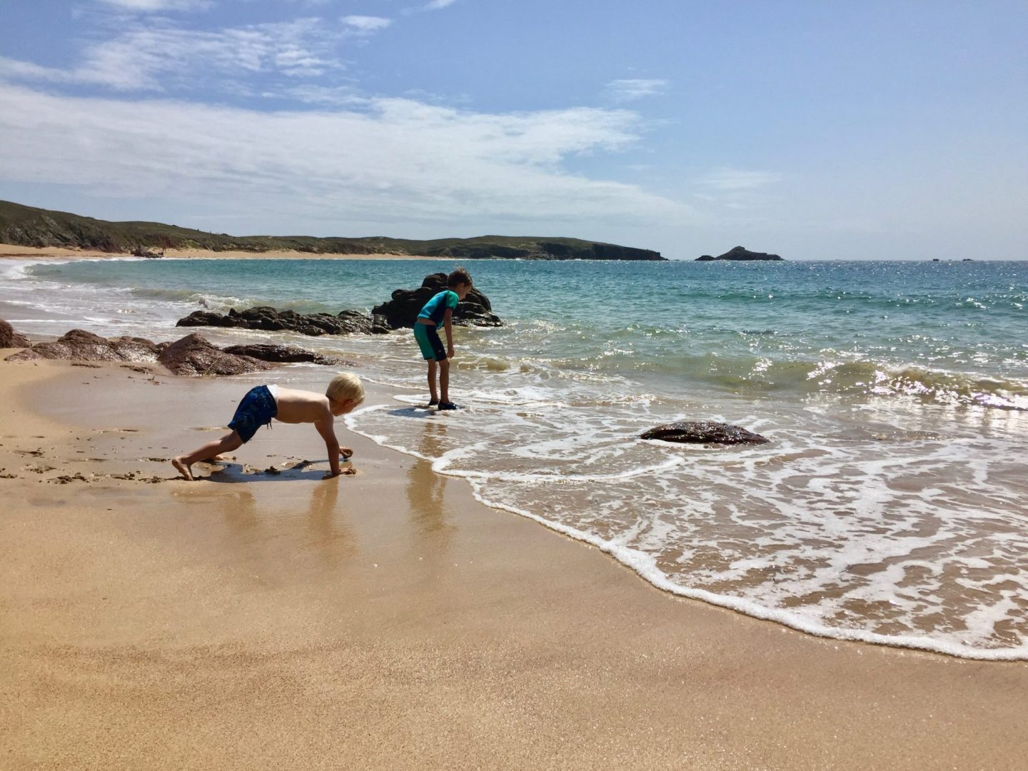 Islands to explore, Brittany - Houat Island with kids