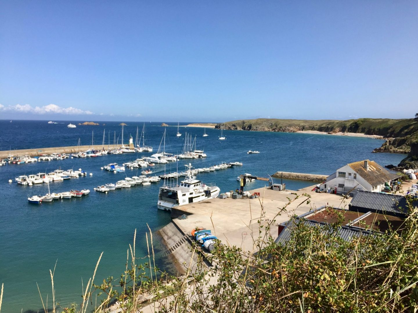 Exploring Houat Island with kids, Brittany