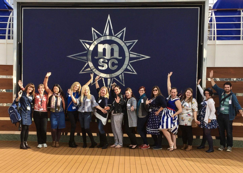 Blog Camp Onboard - MSC Preziosa