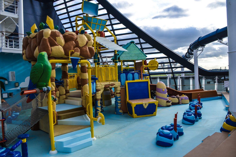 Kids splash park - MSC Preziosa