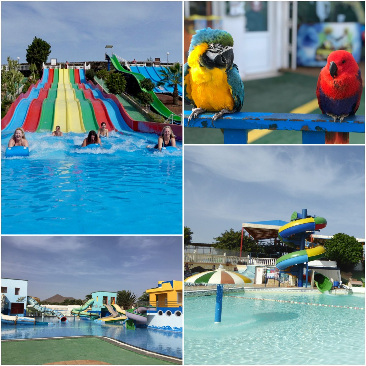 Lanzarote with kids - water park