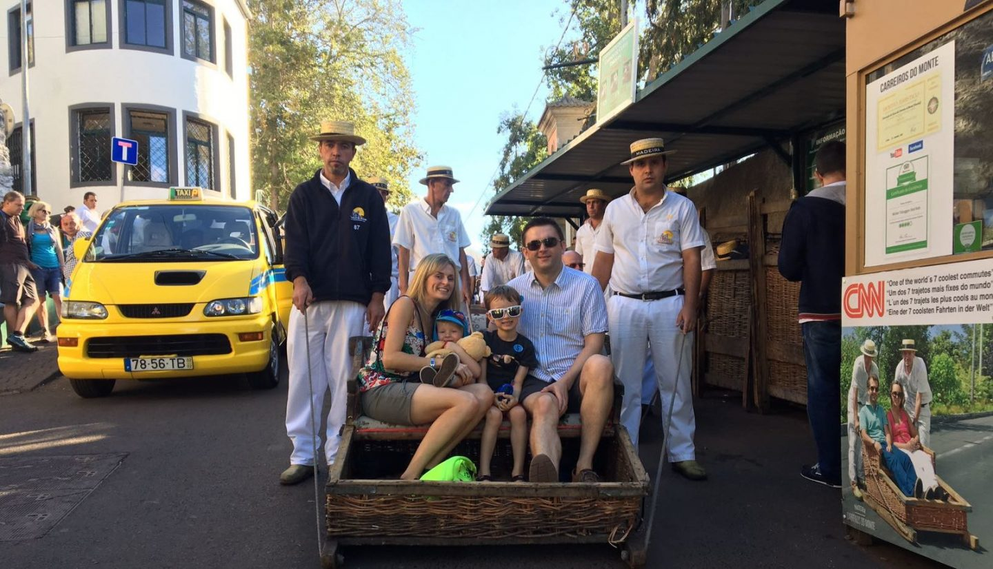 how to make the most of a cruise ship call into Madeira toboggan ride