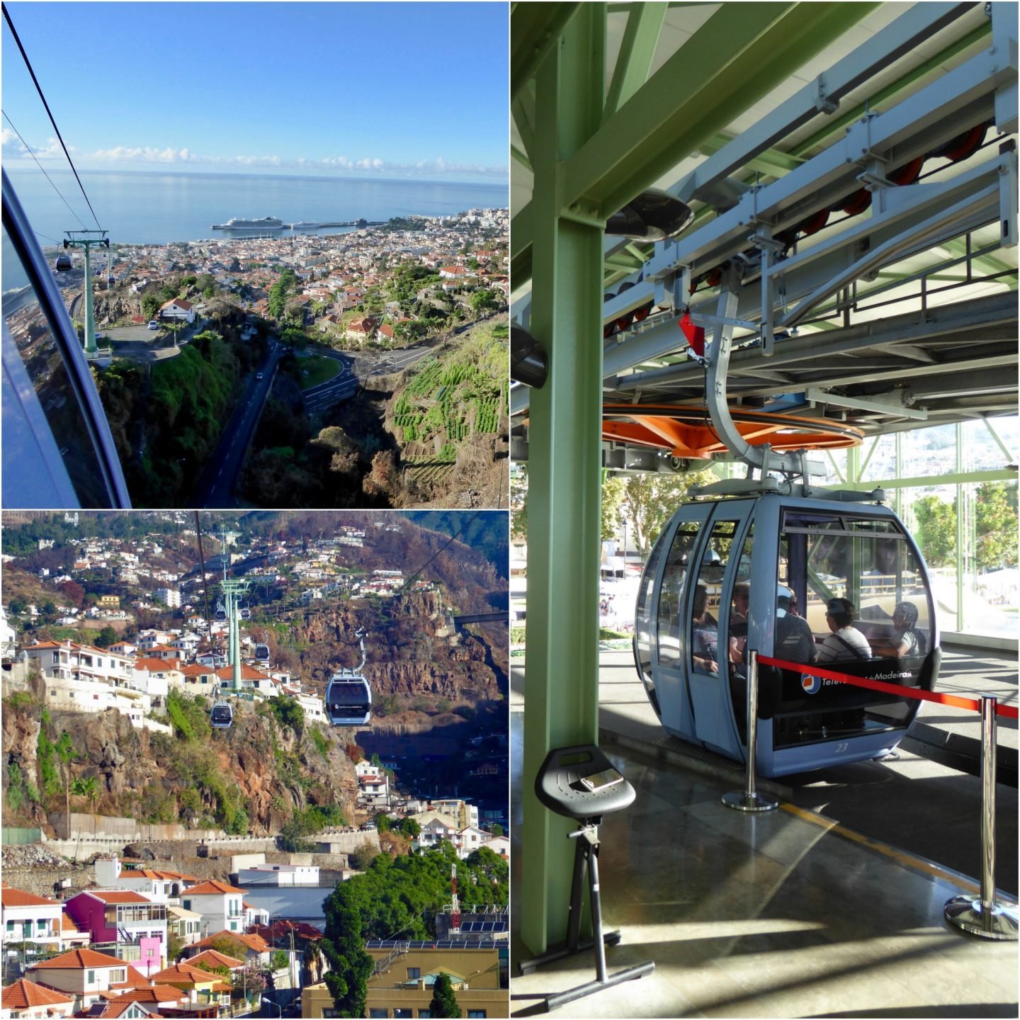 how to make the most of a cruise ship call into Madeira cable car