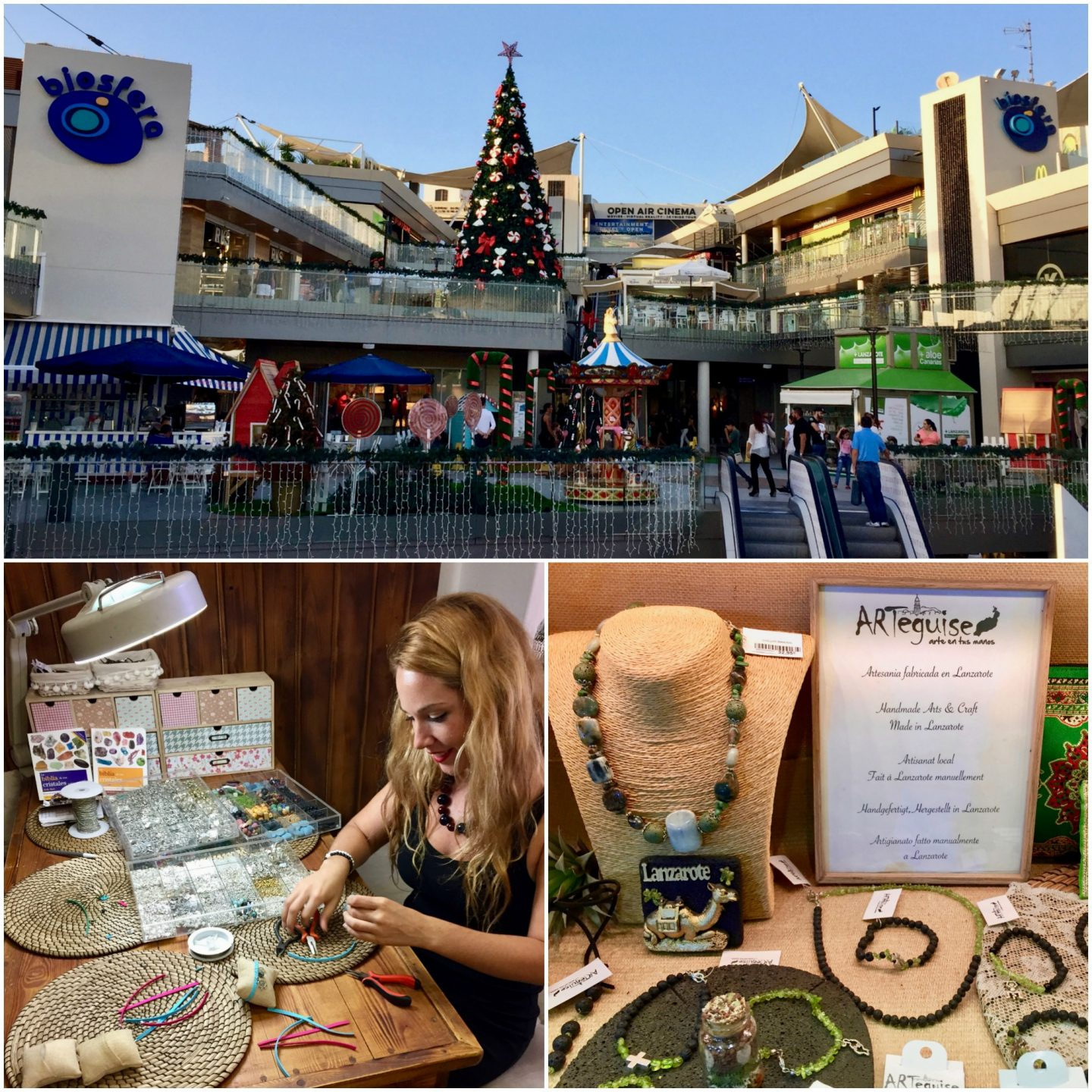 shopping - Lanzarote with kids