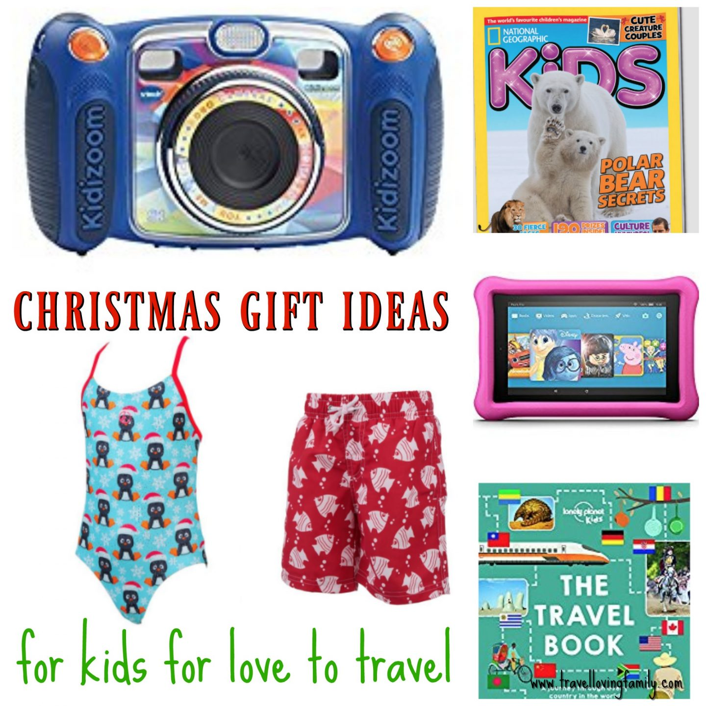The best Christmas ts for kids who love to travel