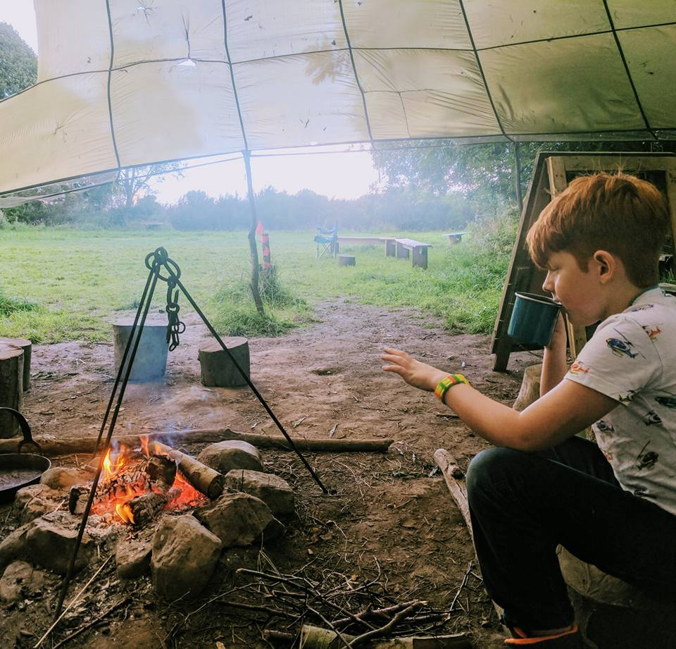 family holiday ideas wild camping