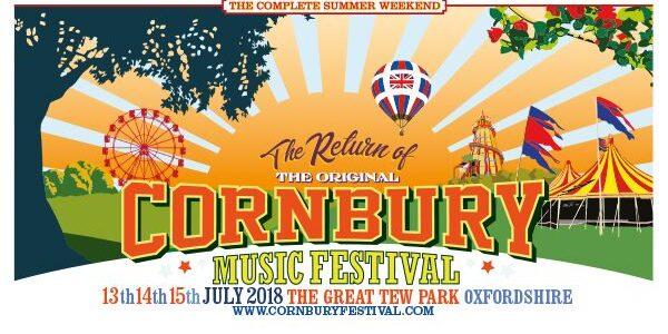 Cornbury Festival 2018 lineup announced!