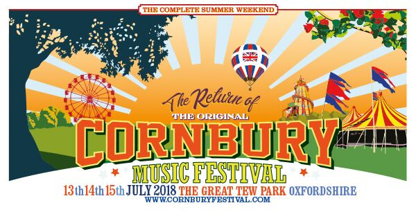 lineup Cornbury Festival 2018 2