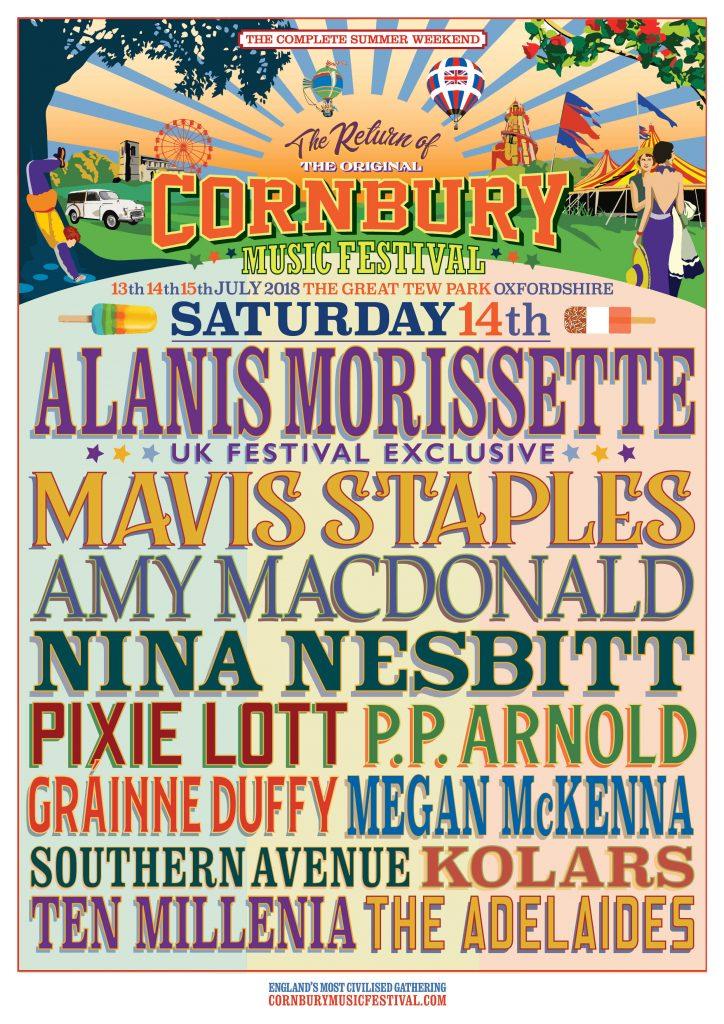 Cornbury Festival 2018 lineup