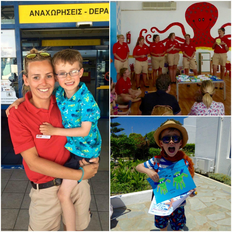 Childcare at Mark Warner Lakitira Beach Resort - Saying goodbyes