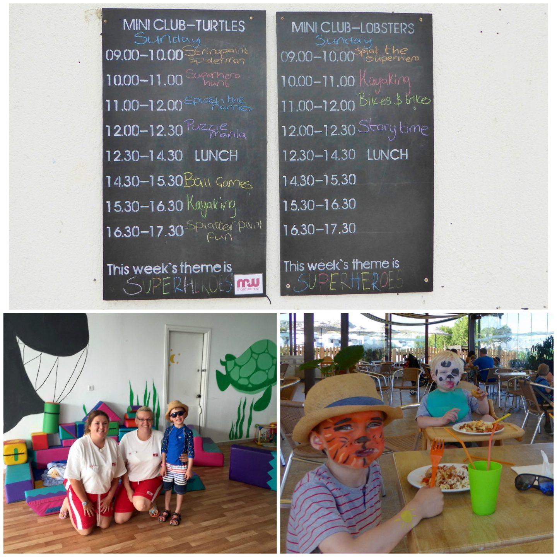 Childcare at Mark Warner Lakitira Beach Resort - kids tea